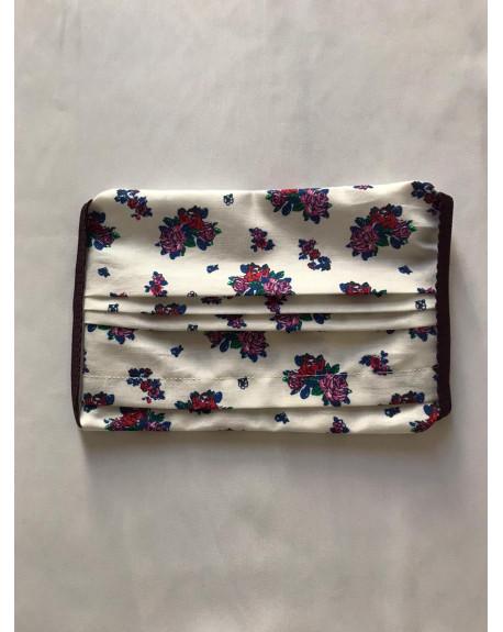"Masque Tissu 100% coton 3 plis avec insert : ""Matriochka"""