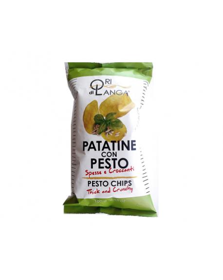 Chips Italiennes au Pesto Ori di Langa 100g